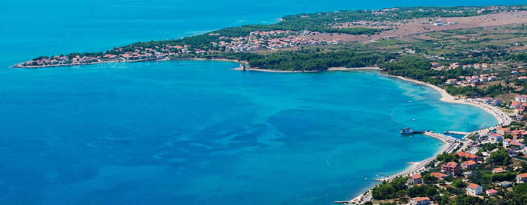 Otok Vir-snimak iz zraka